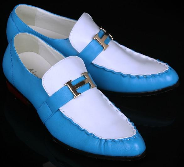 blue and white shoes dress shoes s casual shoes groom