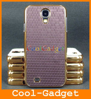 Wholesale LUXURY football Gold Chrome Case Cover Skin Pouch for Samsung Galaxy S4 i9500 S IV SIV I9500C98