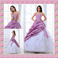 2013 Lace up Floor Length Vintage Ball Gown Quinceanera Gown...