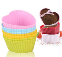 Wholesale factory price silicone cake mold muffin cup cupcake mould pudding cup