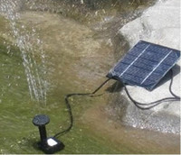 Wholesale 2013 Newest Solar Water Pump for Fountain Solar Brushless Pump For Water Cycle Pond Fountain Rockery Fountain