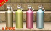 Wholesale Four Colors Stainless Steel double wall Vacuum Cup Flask Water Bottle ML