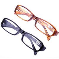 Wholesale Mix color Fashion Reading Glasses Unisex Plastic Presbyopic Glasses