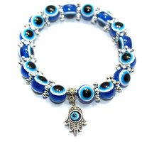 Wholesale Turkey Evil Eye Charms Bracelet Resins plastics Charms Beads New models W09 W11