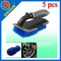 Wholesale EASTSUN High quality Special nylon AUTO Car Tire Brush Floor Mat Brush Household Carpet Brush