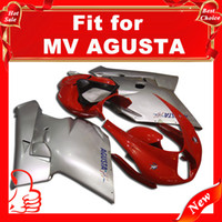 agusta motorcycles - Offroad fairings For MV Agusta R312 F4 Motorcycle Fairing Kit F4 Motorcycle Parts RED SILVER