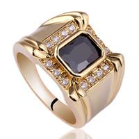 Wedding agate cut stone - Men claw Oblong Cut Black Onyx k Gold Filled S925 Sterling Silver Ring MAN GFS Sz R128