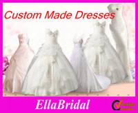 Wholesale Custom Made Customized Made to Order Bridal Wedding Dresses Bridal Shop Wedding Party Gowns Ella Occassion Dress Customer Design Pictures