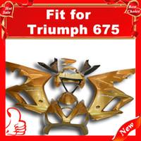 Comression Mold triumph - Offroad fairings for TRIUMPH Daytona Daytona Full motorcycle Fairing Gold