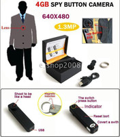 Wholesale 4GB Digital Video Camera with Telescope Zoom Lens Button Secret Spy x480