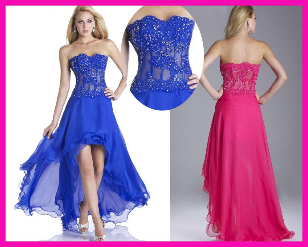 Graduation Dresses Short Front Long Back - Long Dresses Online