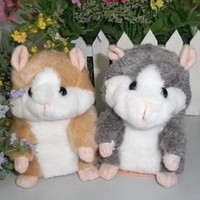Wholesale Hot Selling New Hamster Talking Mouse Plush Toy Christmas New Year Gift