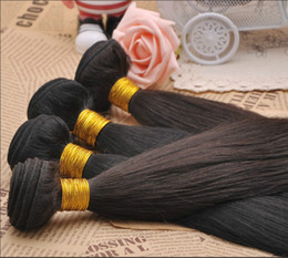 Wholesale Straight Color B Peruvian Hair Extension inch