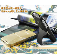 Wholesale Support iPhone4 mobile phone shell transformers iphone4S support with a mobile phone shell