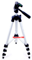 Wholesale Hot sale inch mm Aluminum Alloy Tripod white color for Brand Camera Camcorder and webcam