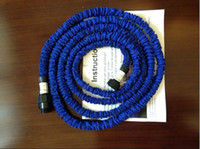 Wholesale Bule version ft Expandable amp Flexible Water Garden Hose best quality UK or US version dropshipping by hongkong post