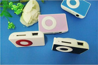 Wholesale New Mini Fashion Clip MP3 Player Support GB TF Card For Best Christmas Gift