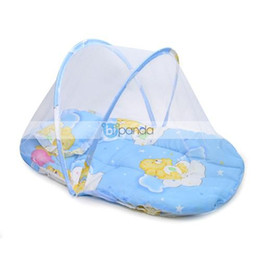 Wholesale baby bed nets belt pillow baby mosquito net random color