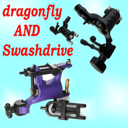 Wholesale 1 New dragonfly Rotary Tattoo Machine Pro Swashdrive Whip Motor Gun Kit