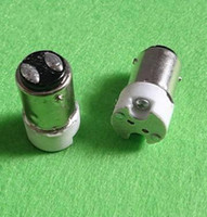 bayonet base - BA15D to GU5 GU4 G4 mr16 Single Contact Bayonet Base to G4 Socket Adapter for LED Set dc ac