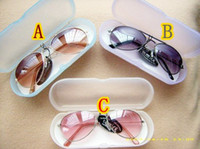 Wholesale 2013 Fashion Hotsale muti colour fashion Children s sunglasses kid s glass ANTI UV UV mix colors