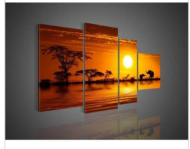 see larger image - Canvas Wall Decor