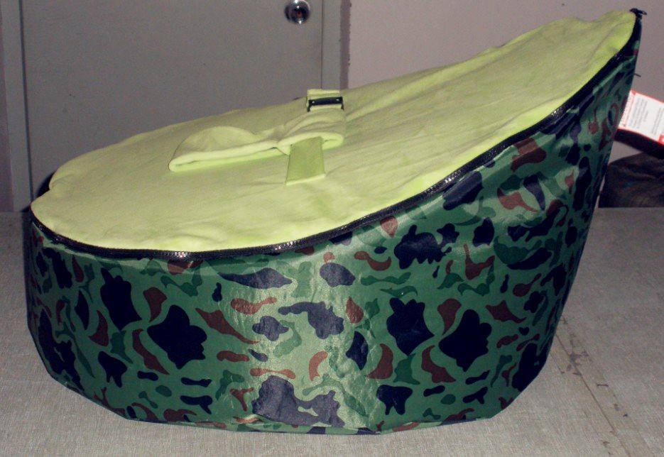 Camouflage Doomoo Baby Bean Bag Original Kid Beanbag Seat