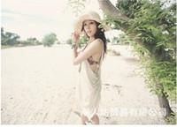 Wholesale Sample Straw Hats Fashion Women Sun Beach Cap Ladies Cowboy Straw Hat Wide Brim Headwear