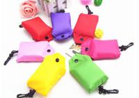 Folding nylon foldable shopping bag - Nylon Foldable Shopping Bags Reusable shopping bag Eco Friendly Shopping Bags Tote Bags