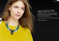 Women's big lulu - Fashion Jewelry Gold Chunky Statement Crystal Chain Big Candy Color Gemstone Luxury Choker Necklace LULU FROST Jewelry MH2
