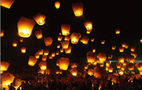 Sky Lantern Wishing  Large lanterns - environmentally friendly flame retardant export sky lantern light Wishing lights - festive wedding supplies gift