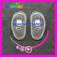 Wholesale Si61 eyeglass accessory silicone eyewear nose pads size mm mm mm mm