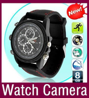 16G   Hot sale 16GB hidden camera watch camamera Dvr wrist watch mini camcorders high quality 30pcs lot Free DHL