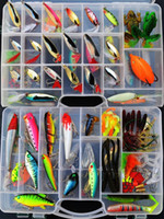 Wholesale Fishing Lures Set with Layer fishing tackle box