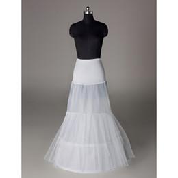 Wholesale mermaid trumpet Bridal Gown Crinoline Petticoat