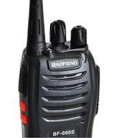 Wholesale 10PCS BAOFENG S Walkie Talkie UHF W CH mA Li ion Portable handheld Two Way Radio km