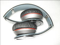 Wholesale 5pcs High definition Stereo bluetooth headphone wireless headset for phone table PC MP4 black white red blue free DHL shipping