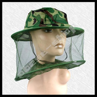 Wholesale Mosquito Bug Insect Head Face Net Mesh Camping Hunting Mosquito Head Net Outdoor Products