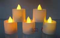 Wholesale Flameless LED Candle Flicker Light Battery Candles Tea Light party wedding supply