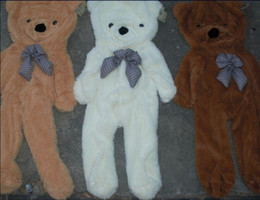200cm 78.7inch Empty teddy bear skin shell 3 color Holiday gifts Practical toys free shipping
