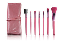 Wholesale Hot Sale Make Up Brushes Professional Cosmetic Make Up Set Roll Up Bags