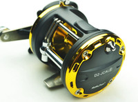 Saltwater fishing lures - Popular Baitcasting Reels BB D2 JCAL fishing reels High Quality lure Tackle Trolling Boat