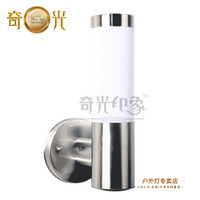 Wholesale Stainless steel wall lamp outdoor modern brief waterproof balcony gazebo villa lamp