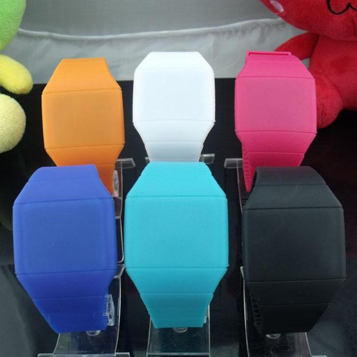 Jelly Touch Watch Soft Led Touch Watch Jelly