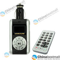 Wholesale Car MP3 Player Foldable FM Transmitter for SD MMC USB CD Slot with Remote Control Chinabestmall