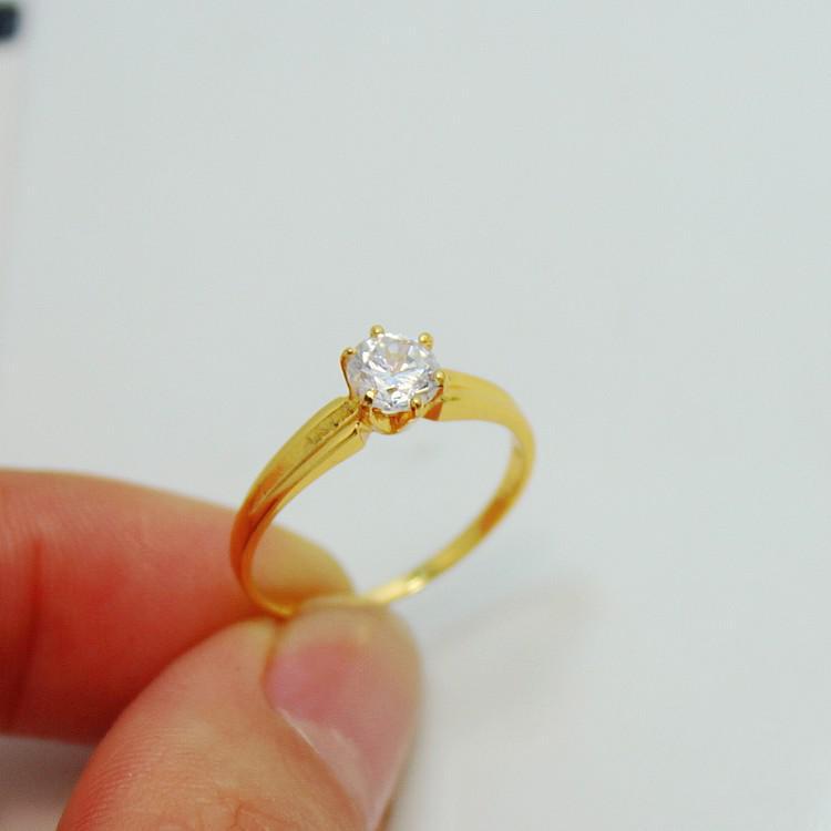 see larger image - Gold Wedding Ring