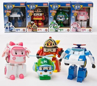 Wholesale Robocar poli deformation car bubble South Korea Thomas toys model mix robocar poli