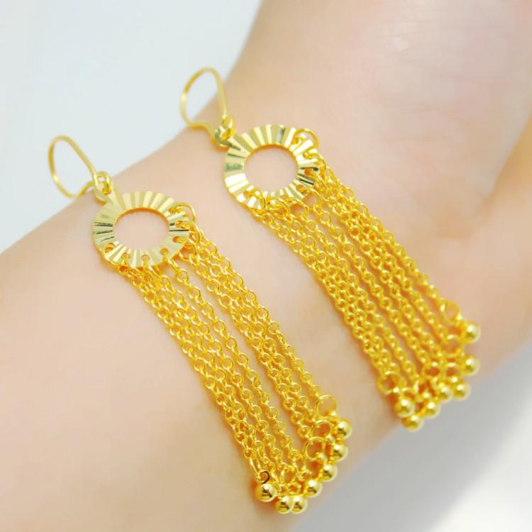 Full 3 Package Tact Gold Plated Earrings Imitation Jewelry ...