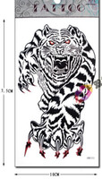 all arm tiger - retail tiger for arm chest Good quality Temporary tattoos Waterproof tattoo stickers body art Painting
