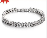 Wholesale Explosion models in Europe and America jewelry Super Flash Silver Bracelet